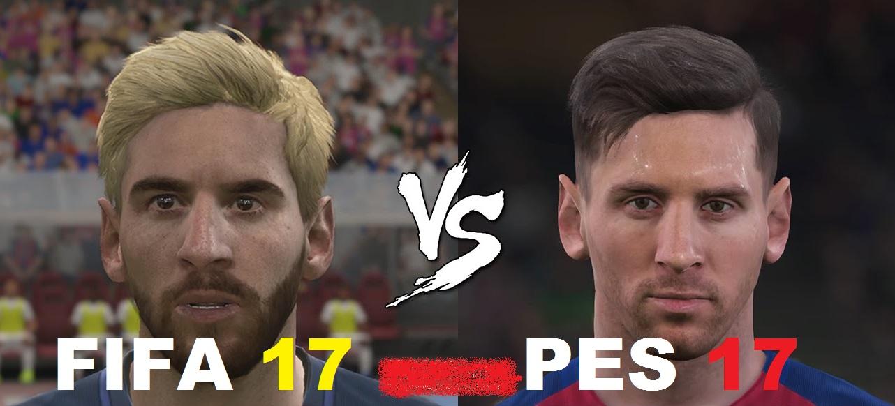 PES 17 Dan FIFA 17, Lebih Baik Mana?