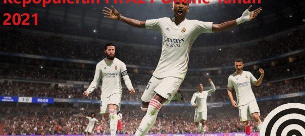 Kepopuleran FIFA21 Online Tahun 2021