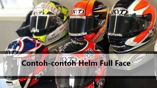 Contoh Helm Full Face